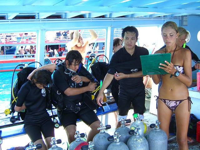 cours de plongee pour debutant