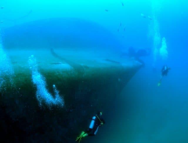epave mv seashart khao lak thailande