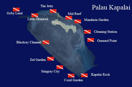 sites de plongée Kapalai Malaisie