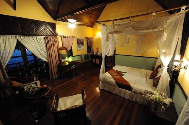 chambre hotel pulau mataking