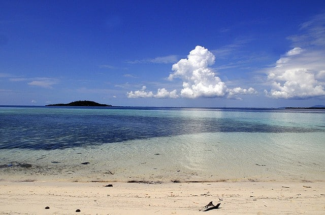 plage de Mabul Malaisie