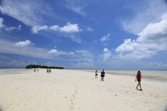dune de sable Pulau Mataking