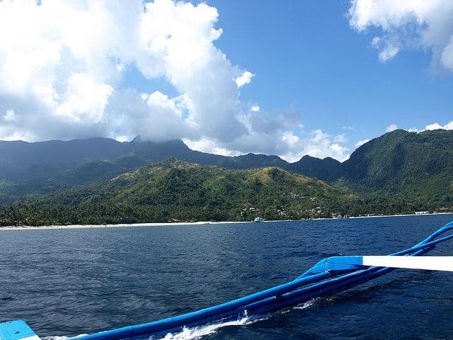 snorkeling plongée bateau puerto galera philippines
