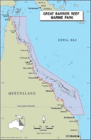Carte Australie Grande Barriere De Corail.Conseils Voyage Grande Barriere De Corail