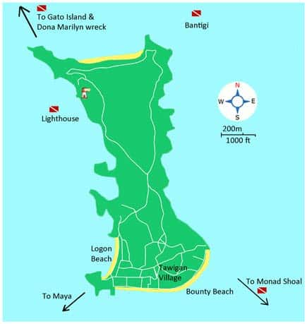 sites de plongée malapascua philippines