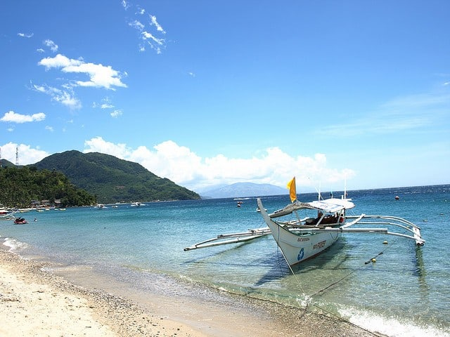 plongée à puerto galera philppines