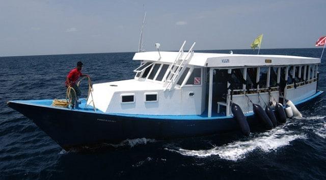 bateau de plongée accessoire croisière maldive