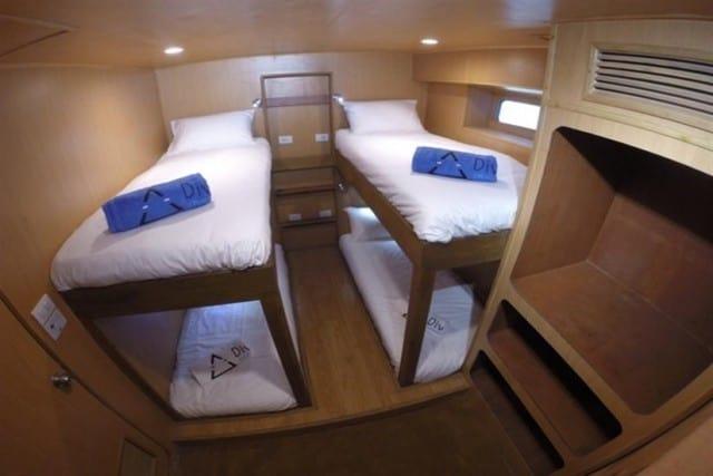 MV Diverace chambre dortoir