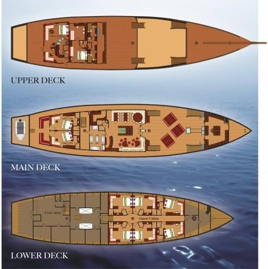 bateau croisiere plongee sous marine komodo raja ampat