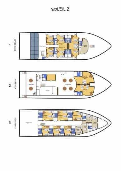 bateau croisiere plongee sous marine maldives