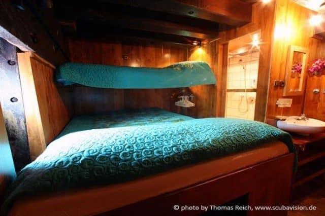 bateau de croisiere plongee sous marine raja ampat