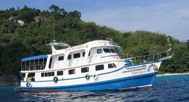 thailande bateau croisiere dolphin queen iles similan