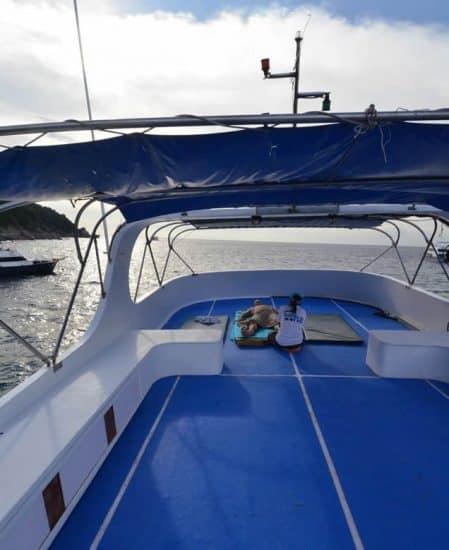 avis croisiere plongee iles similan thailande