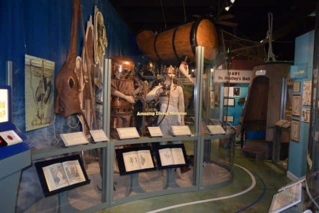 musee histoire de la plongee sous marine en floride