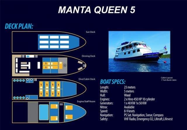 croisiere plongee thailande manta queen 5